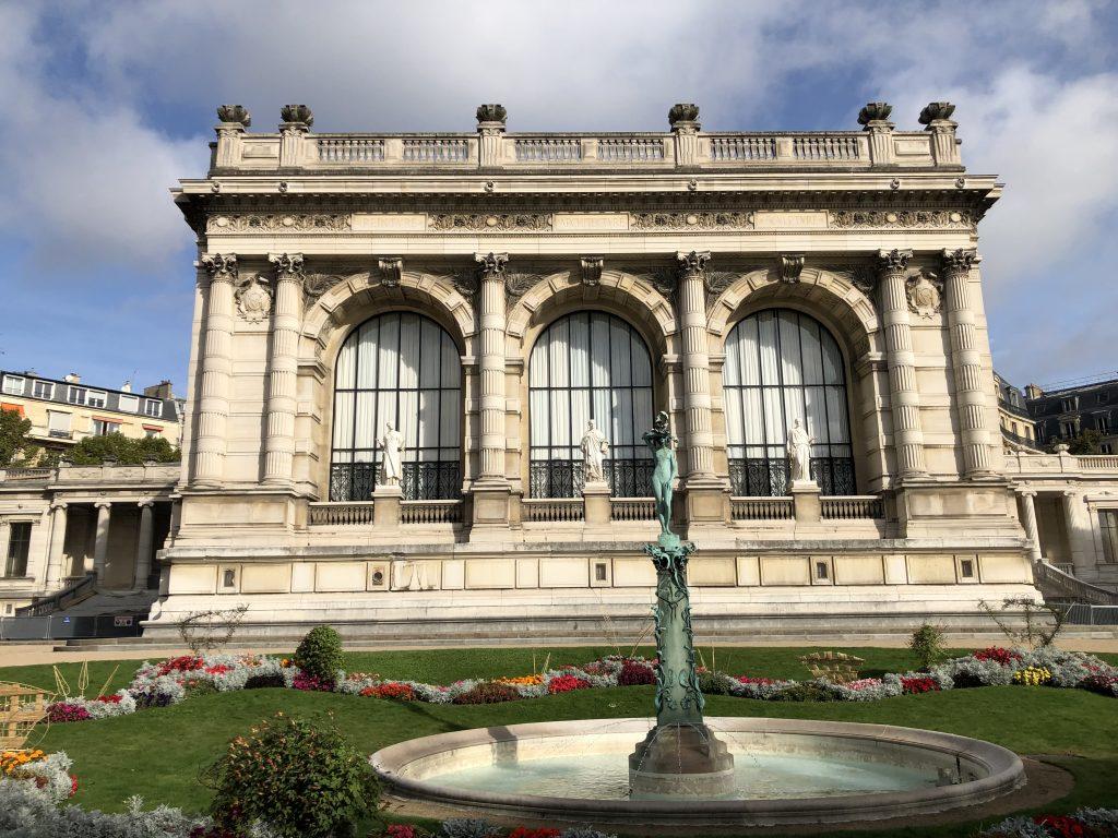 Espace vert du 16è arrondissement de Paris. A proximité de la place de l'Alma.